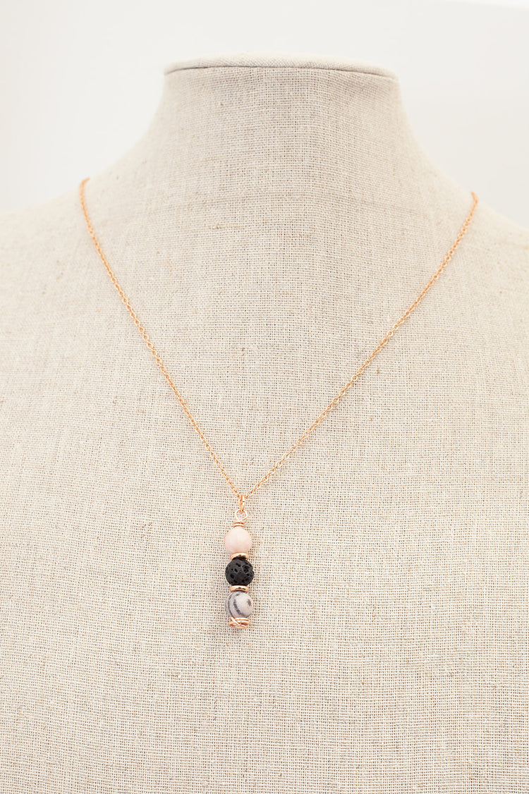 Lava Diffuser Necklace