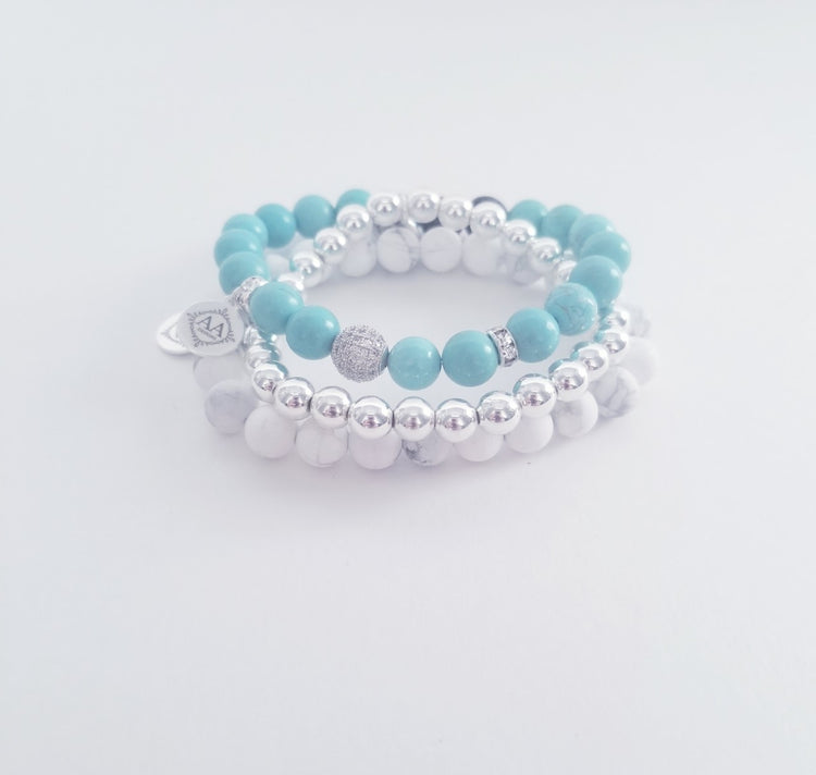 Calming Summer Stack- Silver