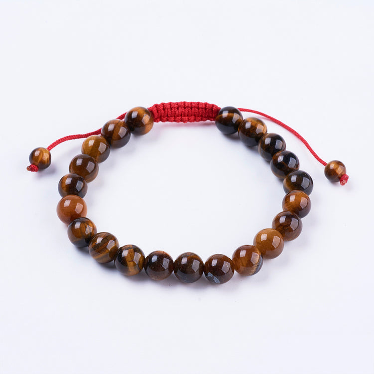 Tigers Eye- Red Cord