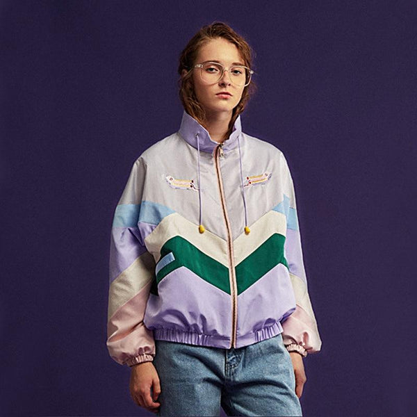 Bubble Gum Pastel Windbreaker