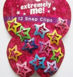 Harajuku Butterfly Hair Clips - 12 Pcs Stars / One Size