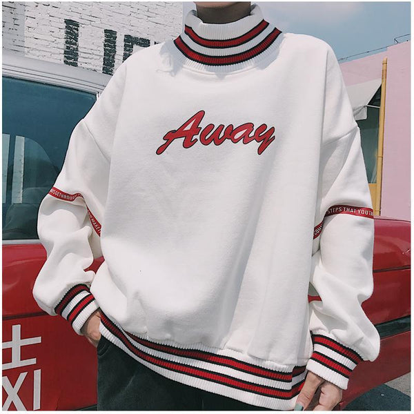 Away Turtleneck Sweater