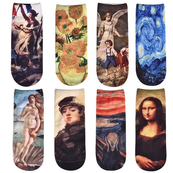 Renaissance art socks