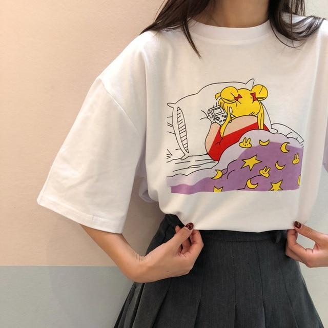 Sleepy Moon Tee
