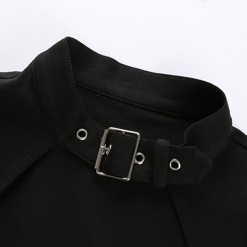 Hollow buckle top