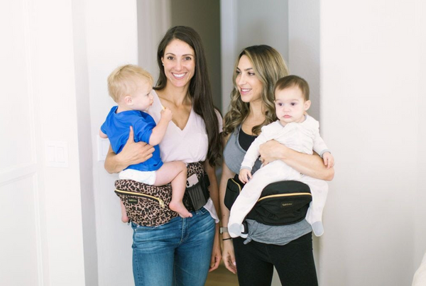 Four Ways to Carry Your Baby with TushBaby