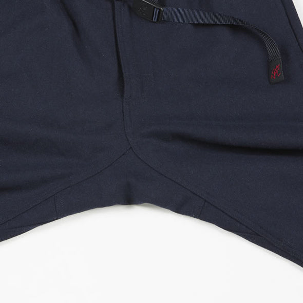 Gramicci Wool Blend NN-Pants Just Cut in Grey (Gusset Detail)