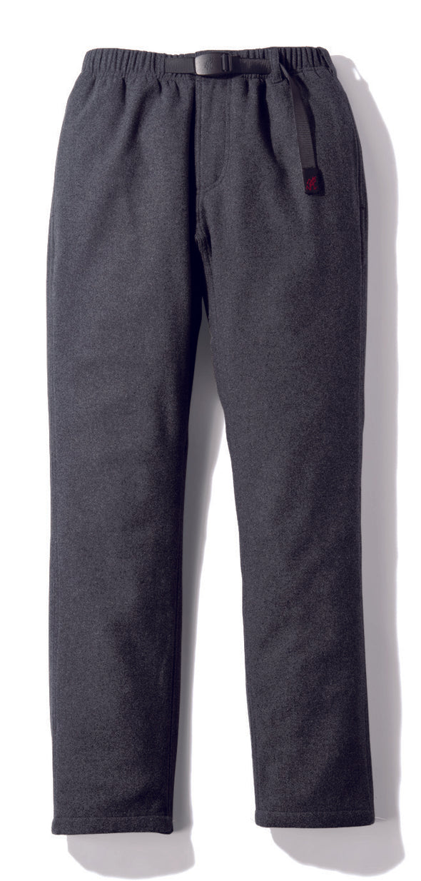 Gramicci Wool Blend NN-Pants Just Cut in Heather Charcoal