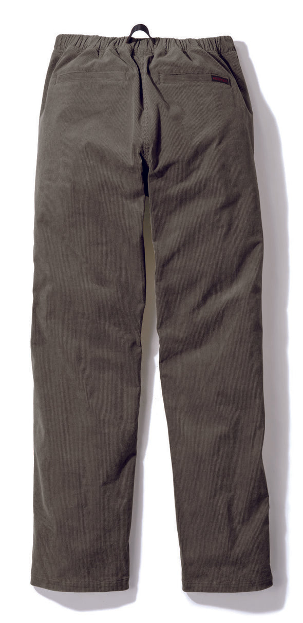 Gramicci Corduroy Pants in Olive (Rear View)