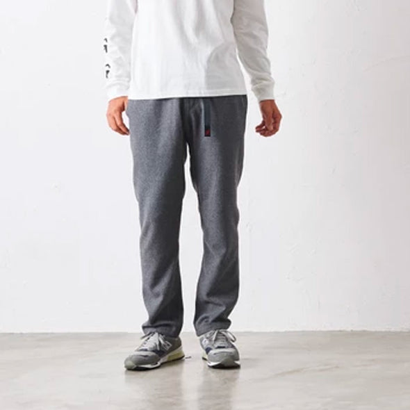 Man Wearing Gramicci Wool Blend NN-Pants Just Cut