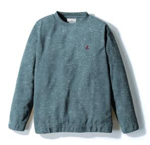 Gramicci Fleece Crew Neck Sweater in Heather Grey