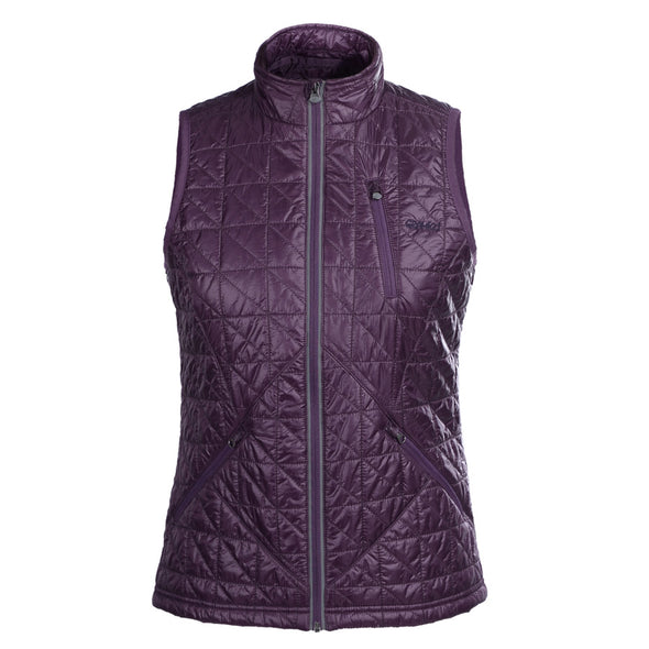 Women's Galaxy Purple Insulated Gilet
