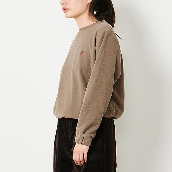 Fleece Crew Neck Sweater