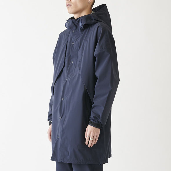 Model wearing Gramicci 3 Layer Big Flap Hooded Jacket