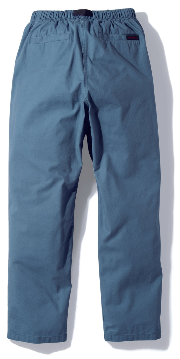 Gramicci Basket Tuck Tapered Pants in Smoky Blue Denim GMP-19S052 rear view
