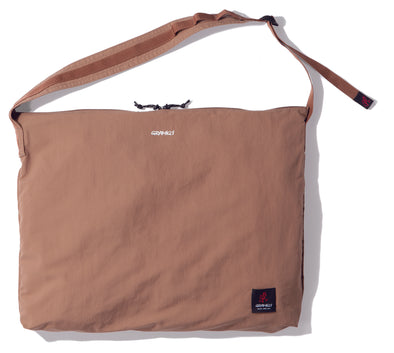 Gramicci Big Shopper Shoulder Bag in Tan GRB-0029
