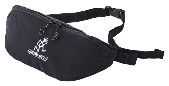 Gramicci Body Bag Travel Waist Pack (Black)