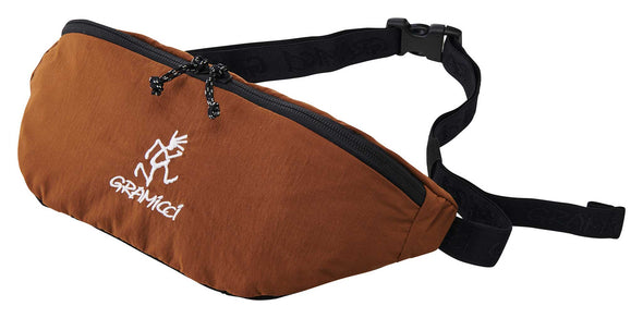 Gramicci Body Bag Travel Waist Pack (Mocha)