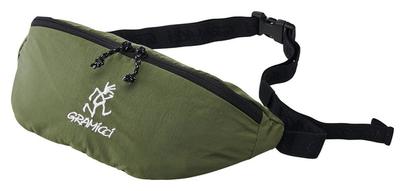 Gramicci Body Bag Travel Waist Pack (Olive)