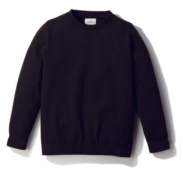 Gramicci Coolmax Knit Sweatshirt Black GUJK-19S023