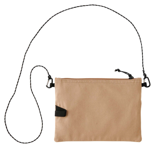 Gramicci Cotton Twill Sacoche Compact Shoulder Bag (Chino) Reverse