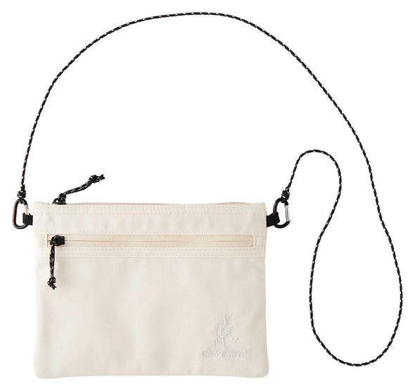 Gramicci Cotton Twill Sacoche Compact Shoulder Bag (Kinari)