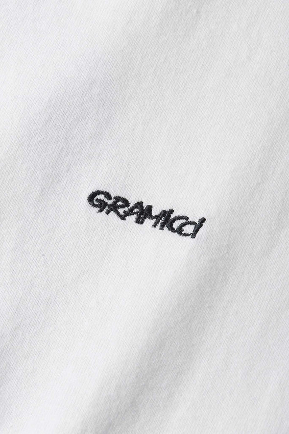 Gramicci G Cotton T-Shirt (White) Logo Detail