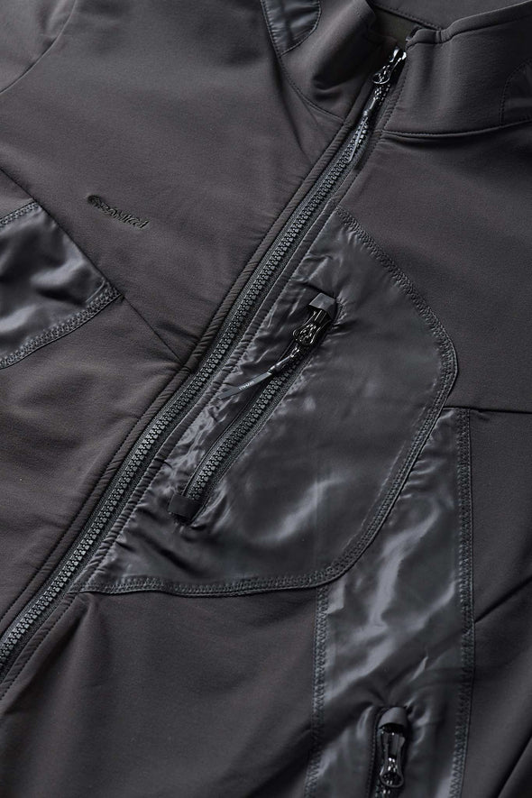 Gramicci Stormfleece Zion Jacket (Black) Chest Pocket Detail