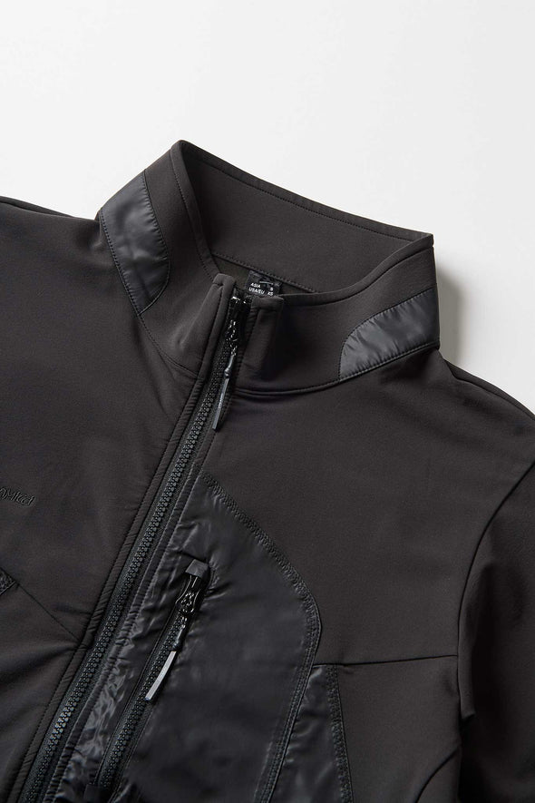 Gramicci Stormfleece Zion Jacket (Black) Collar Detail