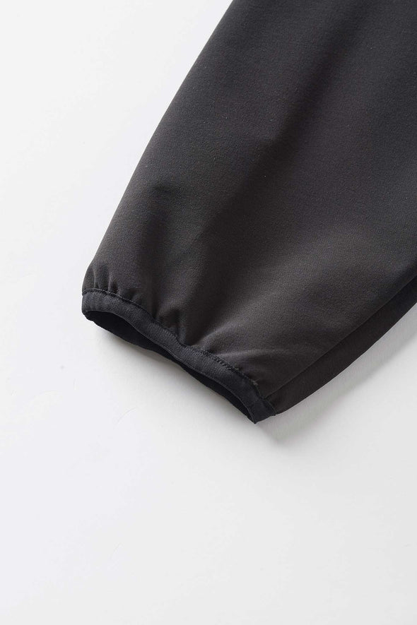 Gramicci Stormfleece Zion Jacket (Black) Elasticated Cuff Detail