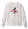 Gramicci Jersey Cotton Long Sleeve Logo T-Shirt in White