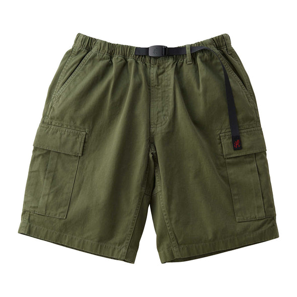 Gramicci Cotton Twill Cargo Shorts (Olive)