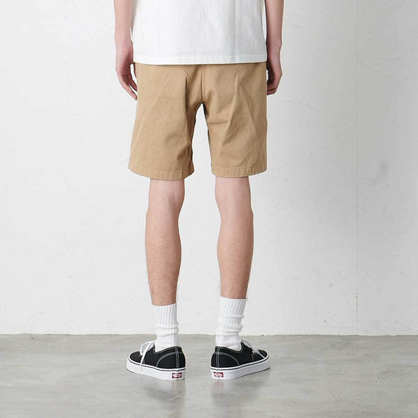 Model Wearing Gramicci Cotton G-Shorts (Chino) Rear View