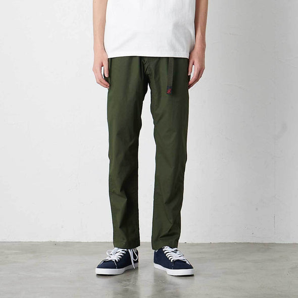 Model wearing Gramicci Weather Cotton Stretch NN-Pants Just Cut