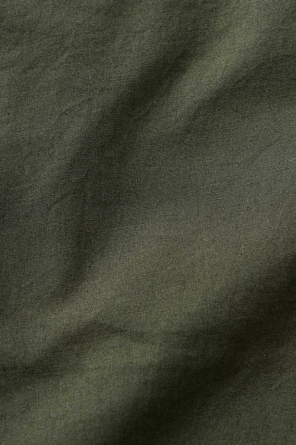 Gramicci Weather Cotton NN-Shorts (Deep Olive) Fabric Swatch