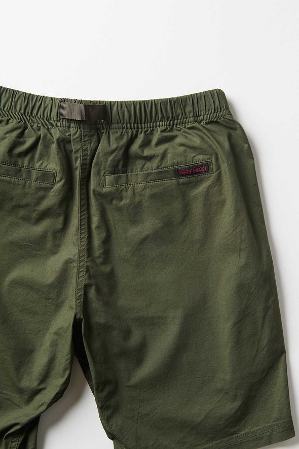 Gramicci Weather Cotton NN-Shorts (Deep Olive) Rear Pocket Detail