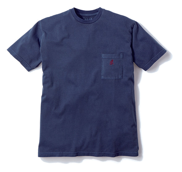 Gramicci One Point Tee T-Shirt Navy GUT-19S085