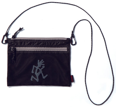 Gramicci Sacoche Shoulder Bag in Black GRB-0026