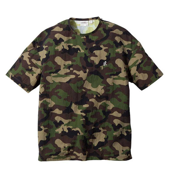 Gramicci Shell Camp Tee Lightweight T-Shirt (Camo)
