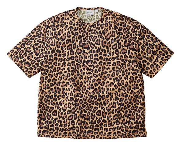 Gramicci Shell Camp Tee Lightweight T-Shirt (Leopard)