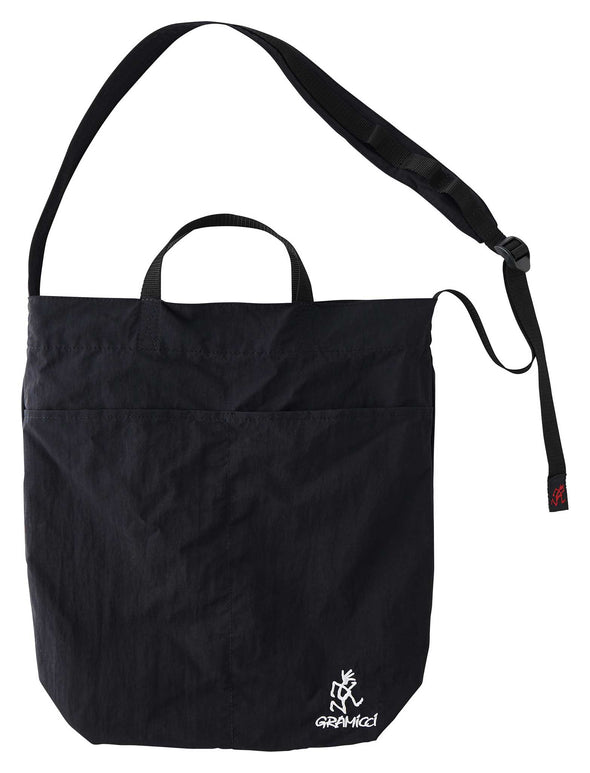 Gramicci Shopper Shoulder Tote Bag (Black)