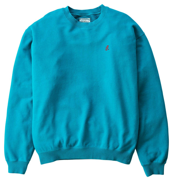Gramicci Cotton Jersey Sweatshirt (Teal)