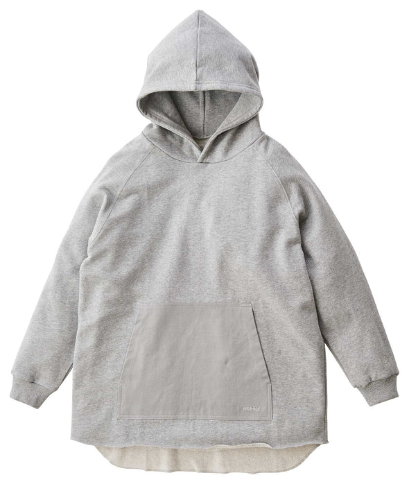 Gramicci Talecut Terry Cotton Hooded Parka (Heather Grey)
