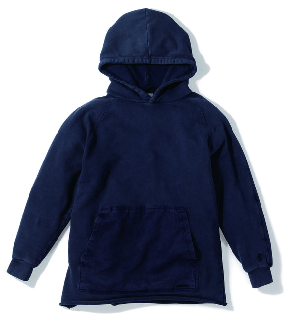 Gramicci Hooded Talecut Parka in Navy GUJK-19S018