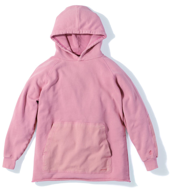 Gramicci Hooded Talecut Parka in Smoky Pink GUJK-19S018