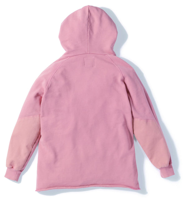 Gramicci Hooded Talecut Parka in Smoky Pink GUJK-19S018 reverse side