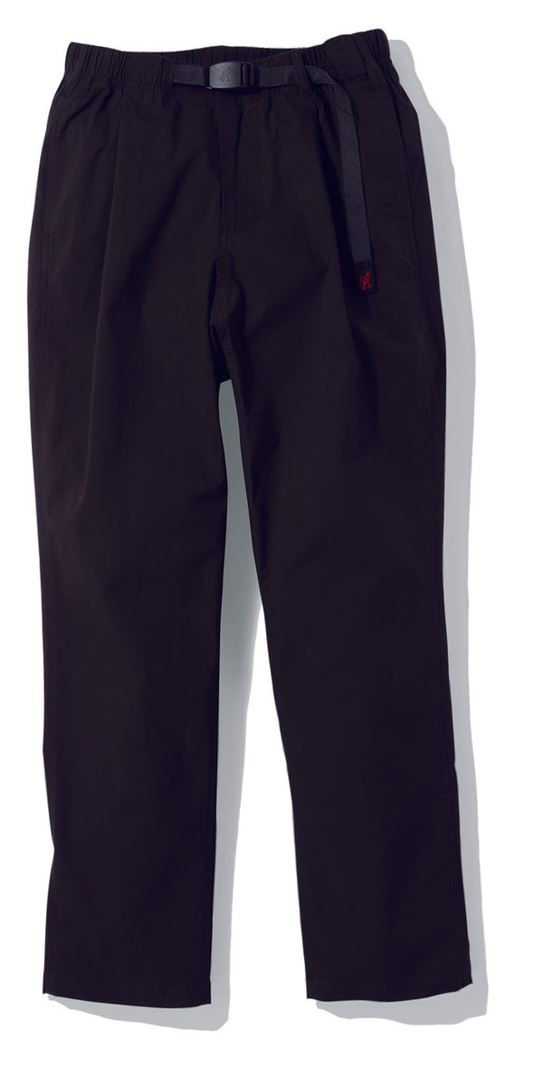 Gramicci Weather Tuck Tapered Pants in Black GMP-19S027