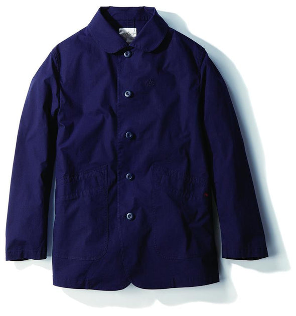 Gramicci Weather Cotton Twill Work Jacket in Navy GMJK-19S077