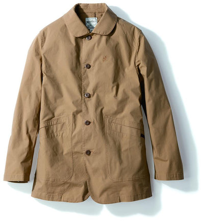 Gramicci Weather Cotton Twill Work Jacket in Sand GMJK-19S077