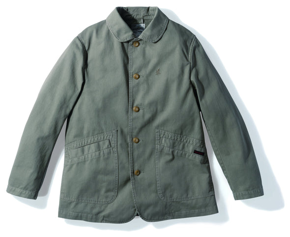 Gramicci Cotton Twill Work Jacket in Olive GMJK-19F024